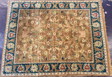 Load image into Gallery viewer, Traditional 8 x 10 Brown, Blue Rug #7279