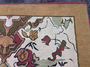 Contemporary 8 x 10 Ivory Discount Rug #51063