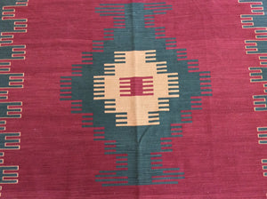 Kilim 6 x 9 Red, Gold Rug #53553