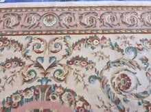 Load image into Gallery viewer, Oriental 9 x 12 Ivory, Gold Rug #1839