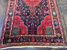 Load image into Gallery viewer, 4'8 x 9'8 Persia Traditional Red #73904