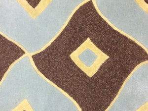 2 x 3 India Contemporary Blue Brown #62131