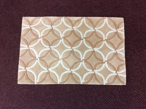 2 x 3 India Contemporary Beige #68839