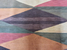 Load image into Gallery viewer, Contemporary 5 x 8 Multi-Color Rug #24480