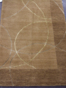 Contemporary 2 x 3 Beige Rug #48828