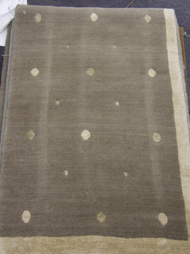 Contemporary 2 x 3 Grey Rug #48833