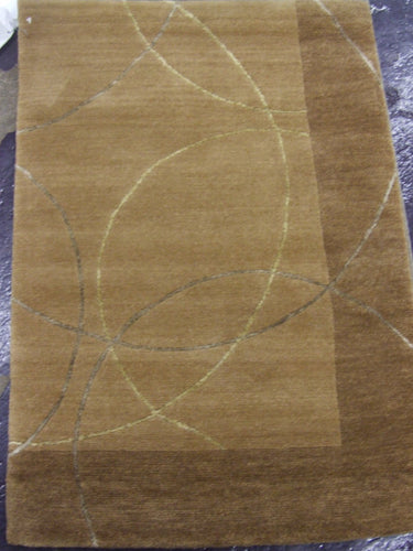Contemporary 2 x 3 Beige Rug #48860