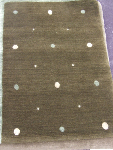 Contemporary 2 x 3 Brown Rug #48879