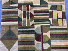 Load image into Gallery viewer, Contemporary 3 x 12 Multi-Color Discount Rug #22570