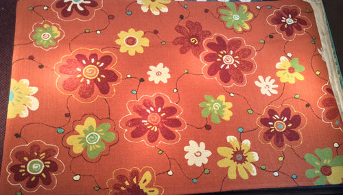 5 x 8 India Contemporary Orange #66308