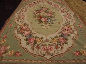 Tapestry 6 x 9 Green Rug #56044
