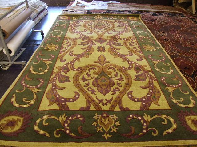 Traditional 5 x 8 Beige Rug #56904