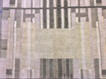 Load image into Gallery viewer, Contemporary 3 x 9 Beige Discount Rug #51175