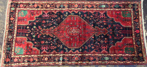 4'8 x 9'8 Persia Traditional Red #73904