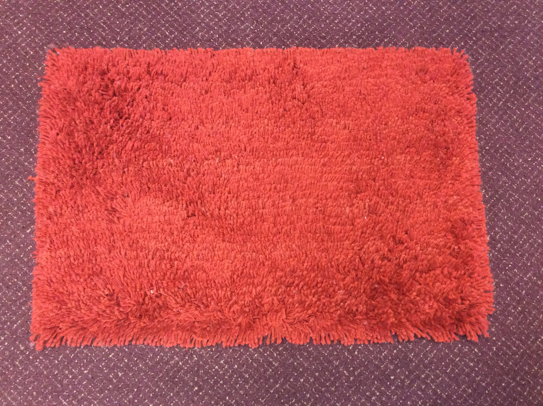 2 x 3 India Shag Red #63282