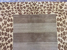 Load image into Gallery viewer, Contemporary 3 x 10 Brown Discount Rug #51196