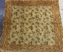Load image into Gallery viewer, Contemporary 6 x 6 Gold Discount Rug #50870