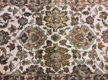 Load image into Gallery viewer, Oriental 3 x 12 Gold, Ivory Rug #4431