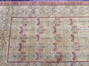 Contemporary 4 x 6 Brown Discount Rug #19970
