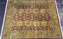 Load image into Gallery viewer, Oriental 11 x 9 Red Rug #10977