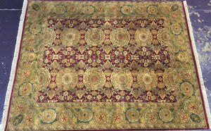 Oriental 11 x 9 Red Rug #10977
