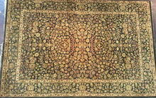 Load image into Gallery viewer, Oriental 6 x 9 Black  Rug #24919