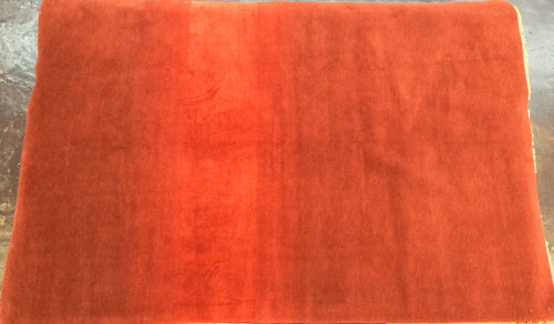 Contemporary 6 x 9 Red Discount Rug #51222