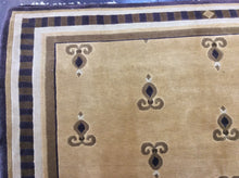 Load image into Gallery viewer, Contemporary 6 x 9 Beige Rug #6946