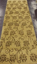 Load image into Gallery viewer, Contemporary 3 x 9 Gold Discount Rug #8177