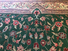 Load image into Gallery viewer, Oriental 12 x 15 Green Rug #7680