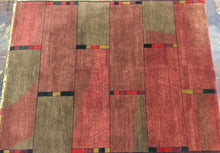 Load image into Gallery viewer, Contemporary 8 x 10 Multi-Color Discount Rug #46289