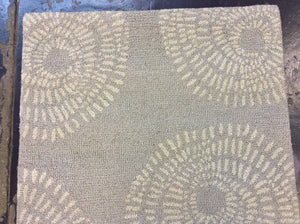 3 x 5 India Contemporary Beige #68580