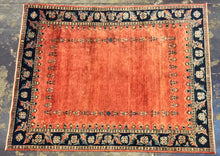 Load image into Gallery viewer, 5 x 7 Persian Contemporary Orange #72504