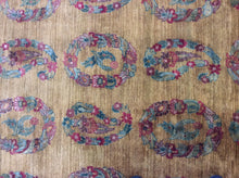 Load image into Gallery viewer, Oriental 6 x 9 Gold Rug #50771