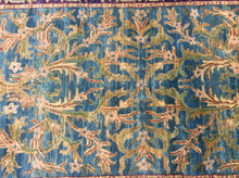 Load image into Gallery viewer, Oriental 4 x 6 Blue, Purple Rug #731