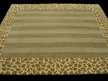 Load image into Gallery viewer, Contemporary 7 x 8 Gold Discount Rug #9403