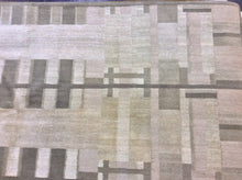 Load image into Gallery viewer, Contemporary 8 x 8 Brown Rug #11814