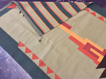 Load image into Gallery viewer, Kilim 5 x 8 Green, Blue Rug #3580