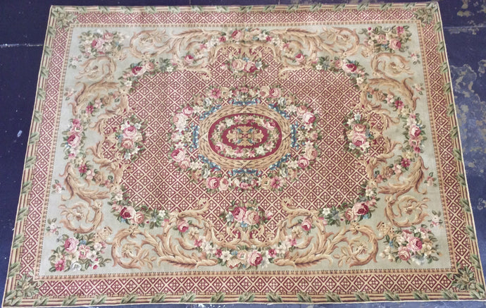 Traditional 9 x 12 Beige Rug #50832