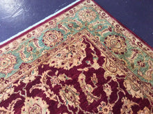 Load image into Gallery viewer, Oriental 9 x 12 Red, Gold Rug #6358