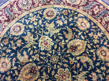 Load image into Gallery viewer, Traditional 8 x 8 Blue, Red Rug #9900