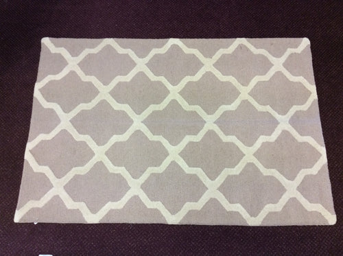 4 x 6 India Contemporary Beige #67663