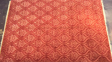 Load image into Gallery viewer, Contemporary 6 x 9 Red Discount Rug #51049