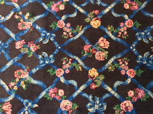 Traditional 6 x 9 Blue Rug #51013