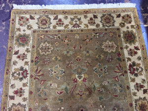 4 x 6 India Traditional Brown #71789