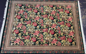 Oriental 9 x 12 Multi-Color Rug #7770