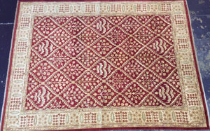 Traditional 9 x 12 Red Rug #52837