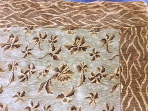 Contemporary 6 x 6 Gold Discount Rug #50870
