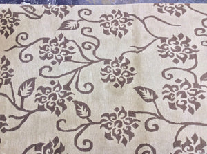 Contemporary 4 x 6 Brown Discount Rug #7332