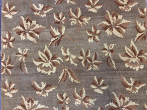 Contemporary 3 x 10 Brown Discount Rug #51094